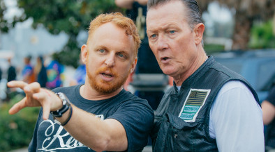 Art directing actor Robert Patrick (Terminator 2, X-files, Scorpion)