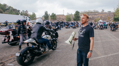 VIP charity ride: 7,800 motorcycles